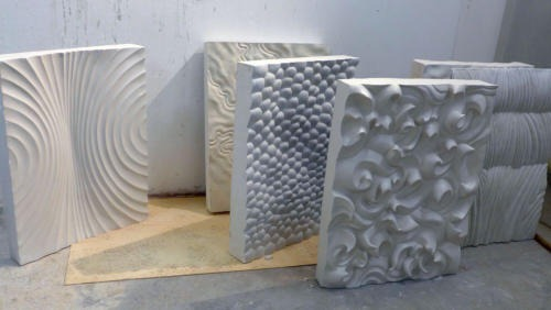 Reliefs in Acryl