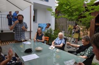 Uferzone Kunst-Galerie Eröffnung